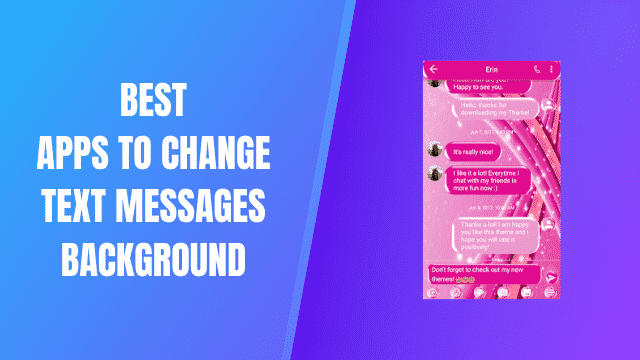 Best Apps To Change Text Massages Background