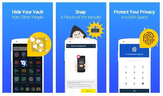 vault app for android