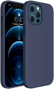 MIRACASE Compatible with iPhone 12 Pro Max Case Navy Blue