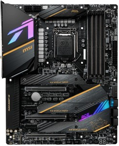 MSI MEG Z490 ACE Gaming Motherboard for i9-11900k